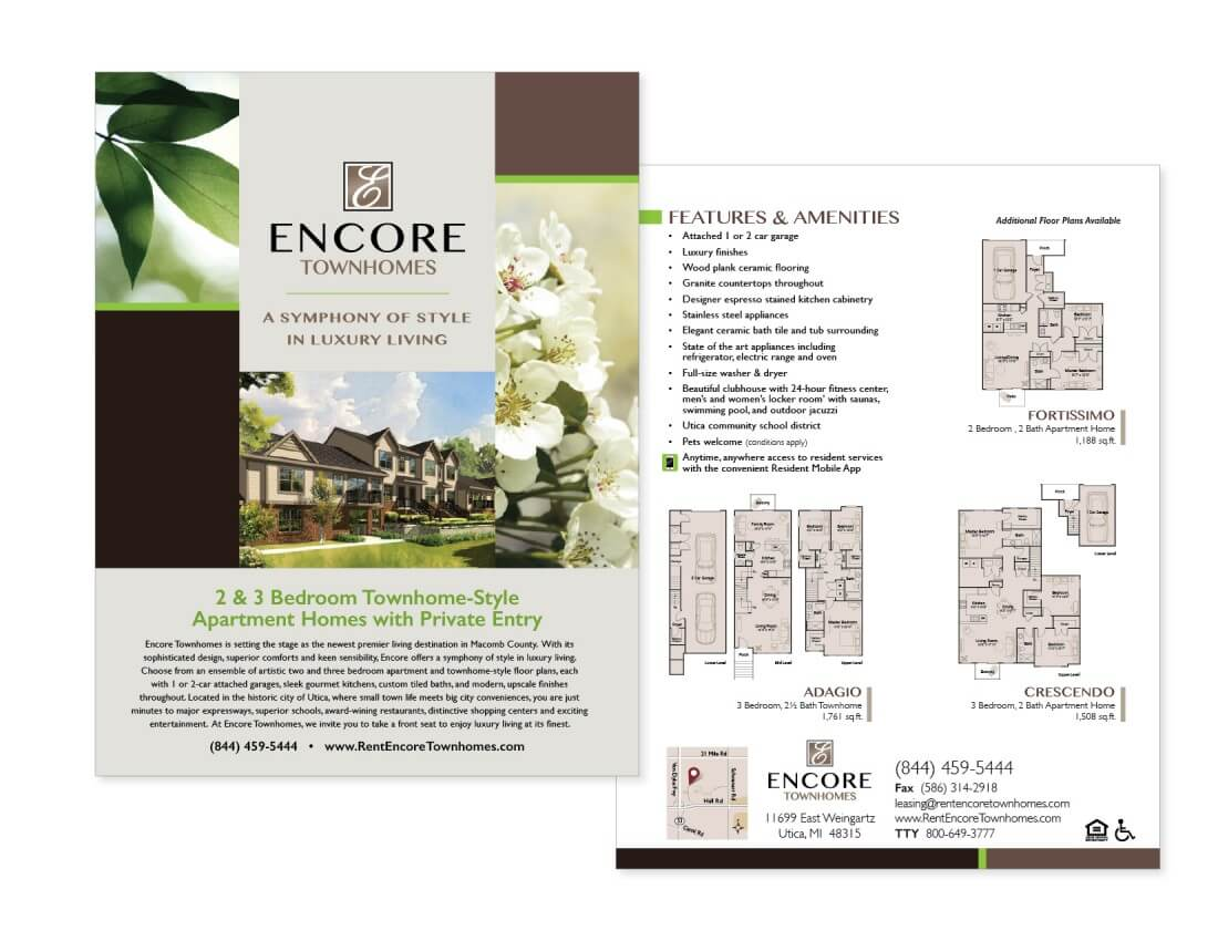 Property Management Marketing Services | Occupancy Solutions LLC - Encore_TH_Flyer